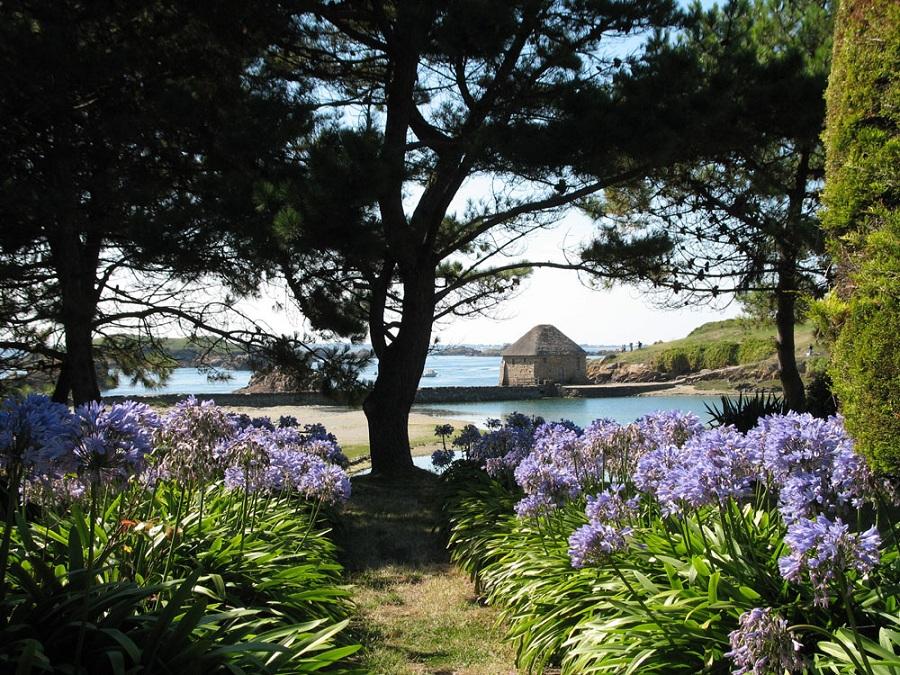 La côte du Goélo et l'ïle de Bréhat